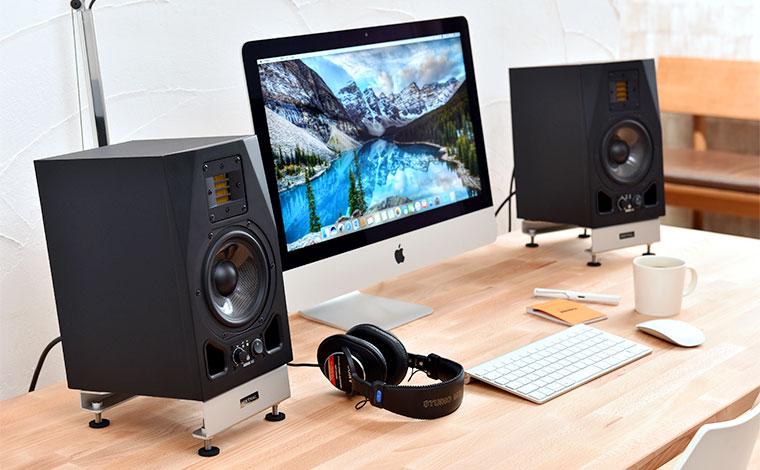 desk speaker stands