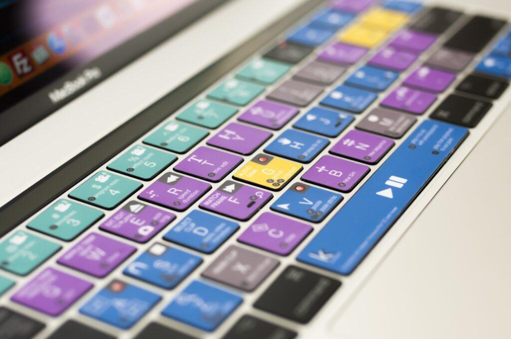 video editing keyboard